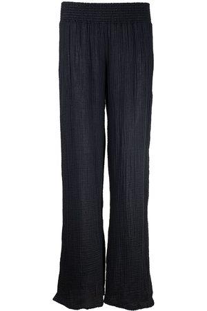 MICHAEL STARS Gauze Wide Leg Pant Black