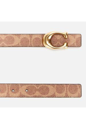 Coach Women's 25mm C Reversible Signature Belt