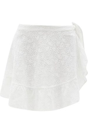 Solid The Corey Crocheted-lace Pareo Skirt - Womens
