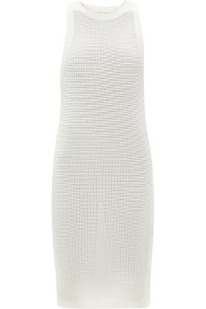 Solid Women Party Dresses - The Carson Technical Mesh Mini Sundress - Womens