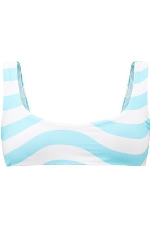 Solid The Elle Reversible Recycled-fibre Bikini Top - Womens