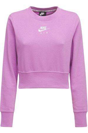Nike Cropped Crewneck Sweatshirt