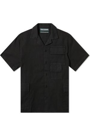 Reese Cooper Short Sleeve Cotton Cargo Shirt