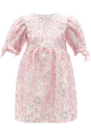 Cecilie Bahnsen Hadwig Sequinned Organza Mini Dress - Womens - Multi