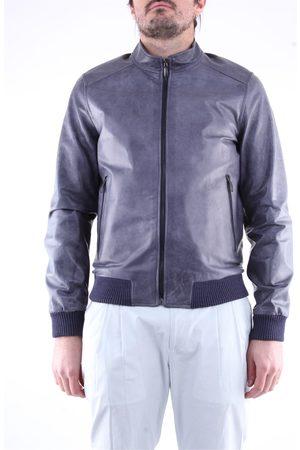 EMANUELE CURCI Men Leather Jackets - Leather jackets Men Avion