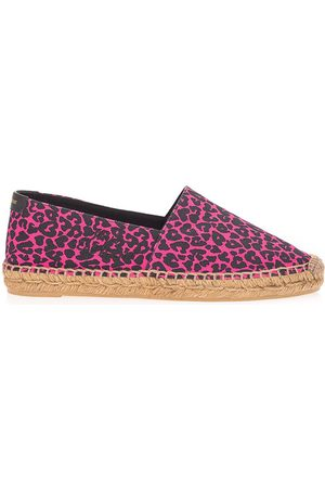 Saint Laurent SAINT LAURENT WOMEN'S 6059562OW305565 FUCHSIA OTHER MATERIALS ESPADRILLES