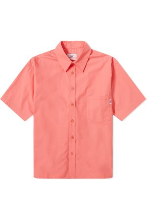 MARTINE ROSE Men Short sleeves - Short Sleeve Logo Tab Shirt