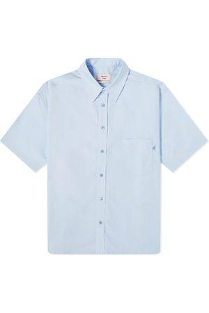 MARTINE ROSE Short Sleeve Logo Tab Shirt