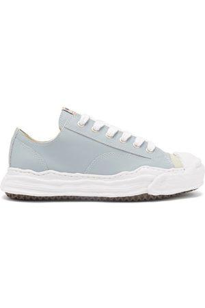 MIHARA YASUHIRO Men Sneakers - Hank Original Sole Leather Trainers - Mens - Grey