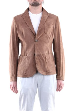 EMANUELE CURCI Leather jackets Men wot