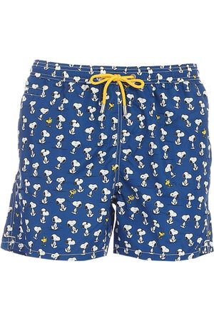 MC2 SAINT BARTH Men Swim Shorts - MEN'S LIGHTINGMICROSNOO61 POLYESTER TRUNKS