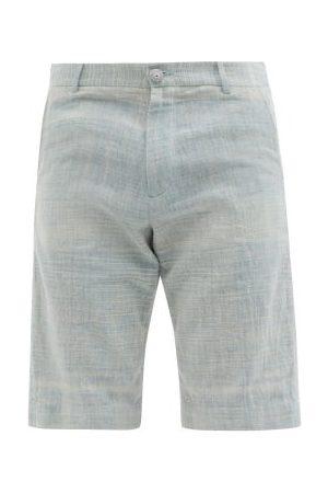 11.11/eleven eleven Organic-cotton Shorts - Mens - Light