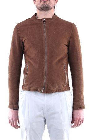 EMANUELE CURCI Vest Men Chocolate