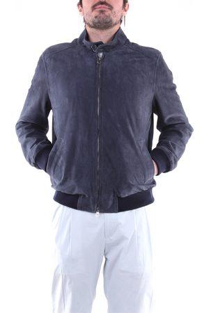 EMANUELE CURCI Leather jackets Men