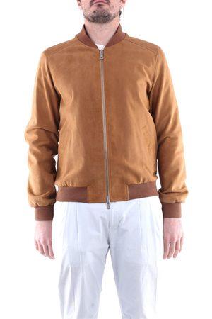 EMANUELE CURCI Men Leather Jackets - Leather jackets Men Camel