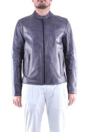 EMANUELE CURCI Men Leather Jackets - Leather jackets Men Light
