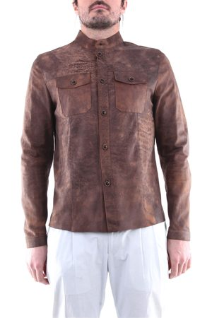 EMANUELE CURCI Men Leather Jackets - Leather jackets Men Leather