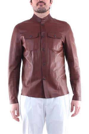 EMANUELE CURCI Leather jackets Men Land