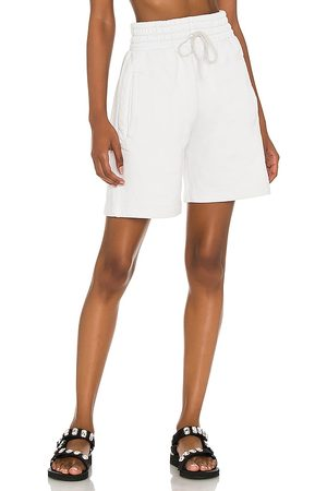 AGOLDE Boxing Short in White.