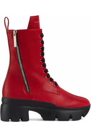 Giuseppe Zanotti WOMEN'S I070017004 LEATHER ANKLE BOOTS