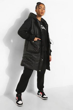 Boohoo Womens Longline Pocket Detail Gilet - - S