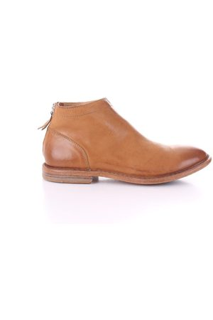 Moma MEN'S 2ES022SO LEATHER ANKLE BOOTS