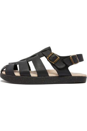 Yogi Footwear Elba Men's Tumbled Leather Sandal