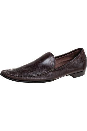 Bottega Veneta Leather Pointed Toe Loafers Size 41