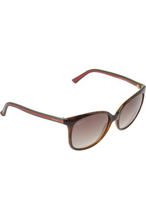 Gucci Havana/ Gradient Web GG3649 Wayfarer Sunglasses