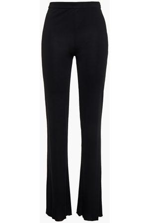 Emilio Pucci Woman Crepe De Chine Bootcut Pants Size 38