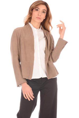 Terzo Piano Women Jackets - Giacca Scamosciata
