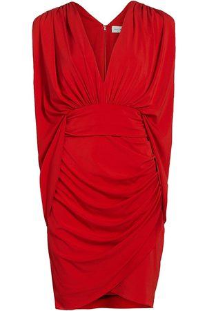 Halston Heritage Women Casual Dresses - Women's Ria V-Neck Jersey Dress - - Size 10