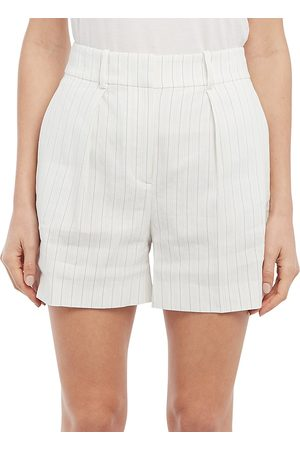 Theory Women Sports Shorts - Women's Stripe Shorts - - Size 10