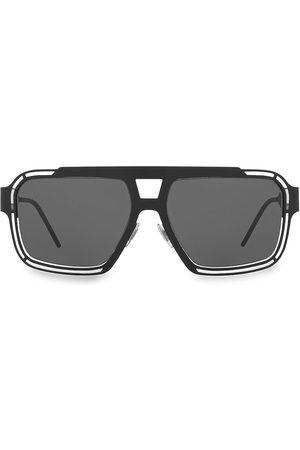 Dolce & Gabbana Men Square - Men's 57MM Square Sunglasses - Matte