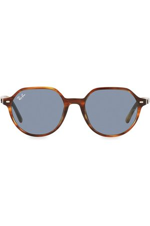 Ray-Ban Men Round - Men's 53MM Round Sunglasses - Havana