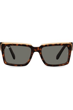 Ray-Ban Men Square - Men's 54MM Ombre Tortoiseshell Square Sunglasses - Havana
