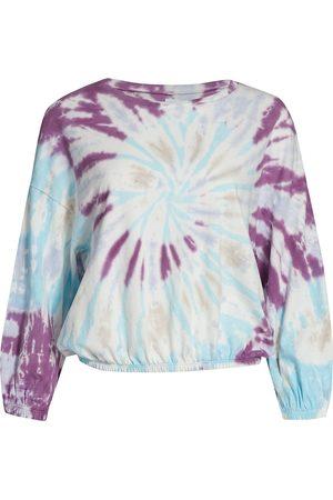 NSF Women's Annelise Tie-Dye Sweatshirt - Haze Tie Dye - Size XS