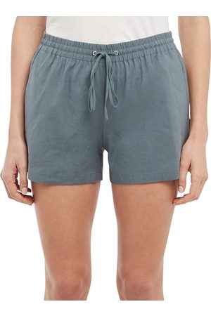 THEORY Women Sports Shorts - Women's Simple Shorts - Grey - Size Medium