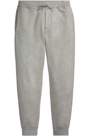Ralph Lauren Purple Label Men Sweatpants - Men's Madison Joggers - Classic Light Grey - Size XXL
