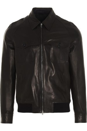 SALVATORE SANTORO Men Jackets - MEN'S 40518ELABLACK OTHER MATERIALS OUTERWEAR JACKET
