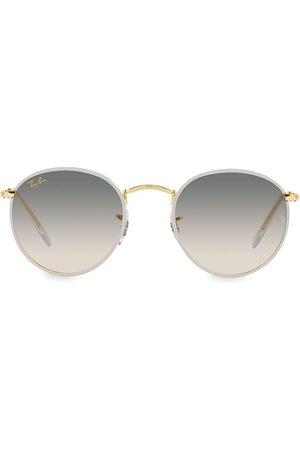 Ray-Ban Men Round - Men's 50MM Round Sunglasses