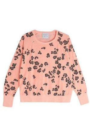 JUMPER 1234 1234 - Leopard Terry Sweatshirt in Neon