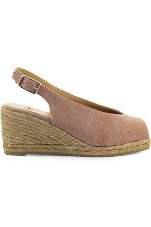Castaner CASTAÑER DOSALIA OPEN TOE MAUVE ESPADRILLE WITH WEDGE