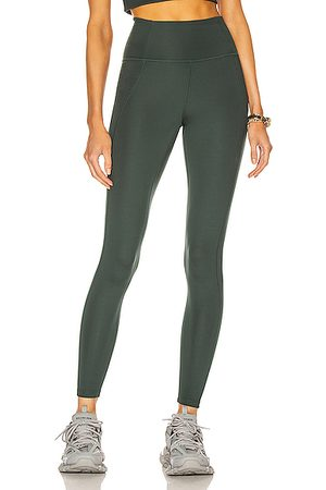 GIRLFRIEND COLLECTIVE High-Rise Compressive Legging in Teal