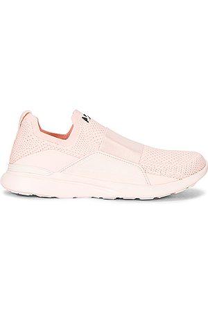 APL Athletic Propulsion Labs TechLoom Bliss Sneaker in Pink