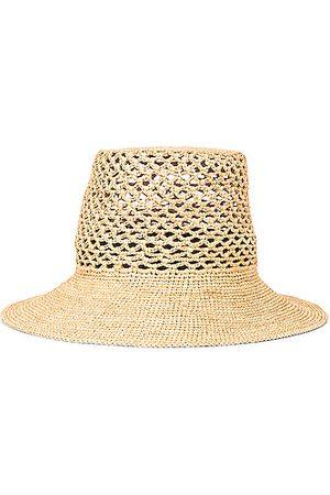Janessa Leone Lynda Packable Bucket Hat in Neutral