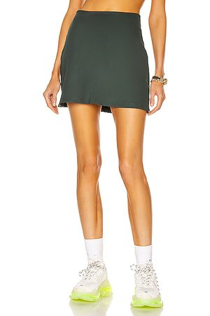 GIRLFRIEND COLLECTIVE High Rise Skort in Teal