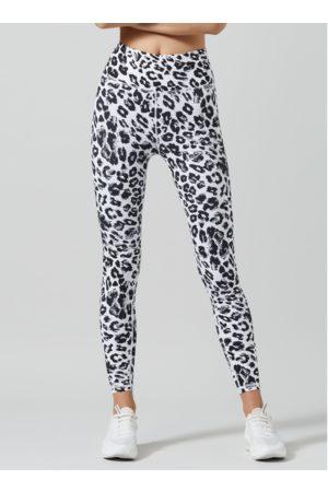 Lilybod Snow White Leopard Kendra Leggings
