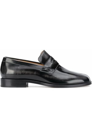 Maison Margiela Men Loafers - MEN'S S57WR0056P3116T8013 LEATHER LOAFERS