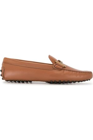 Tod's Women Loafers - WOMEN'S XXW00G0DD30D90S010 LEATHER LOAFERS